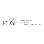 Stuart A. Rose Manuscript Archives & Rare Book Library
